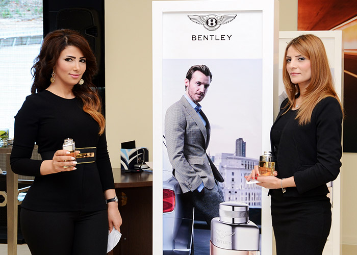 Bentley launches its first fragrance for men at Blue Salon
