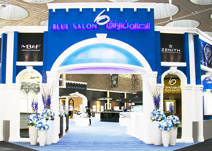 Blue Salon exhibits its latest collection at the 16th Doha Jewelry and Watches Exhibition (DJWE)
