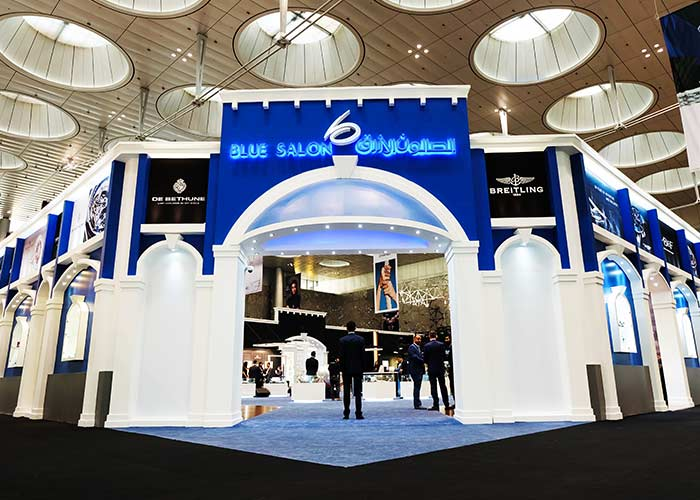 Blue Salon Showcases latest collection at the 2018 Doha Watches and Jewelry Exhibition