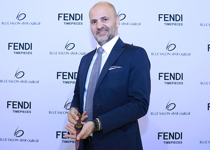 Blue Salon launches the new limited edition of the SELLERIA MAN Qatar watch from Fendi Timepieces