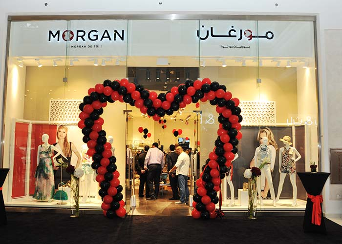 Morgan Opening Shop