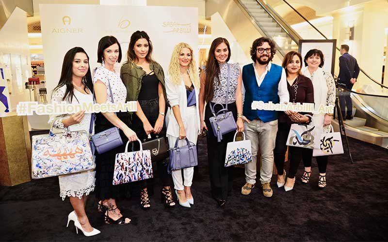 Aigner Fashion Meets Arts