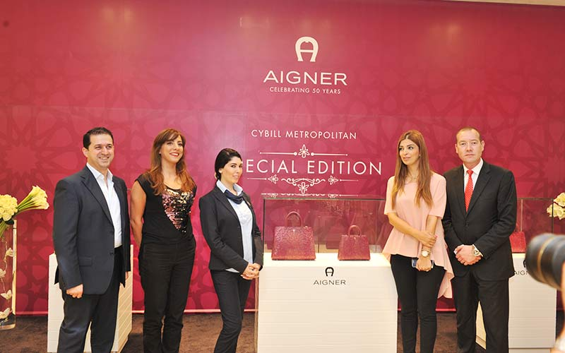 Aigner Introduces the Metropolitan Cybill Bag