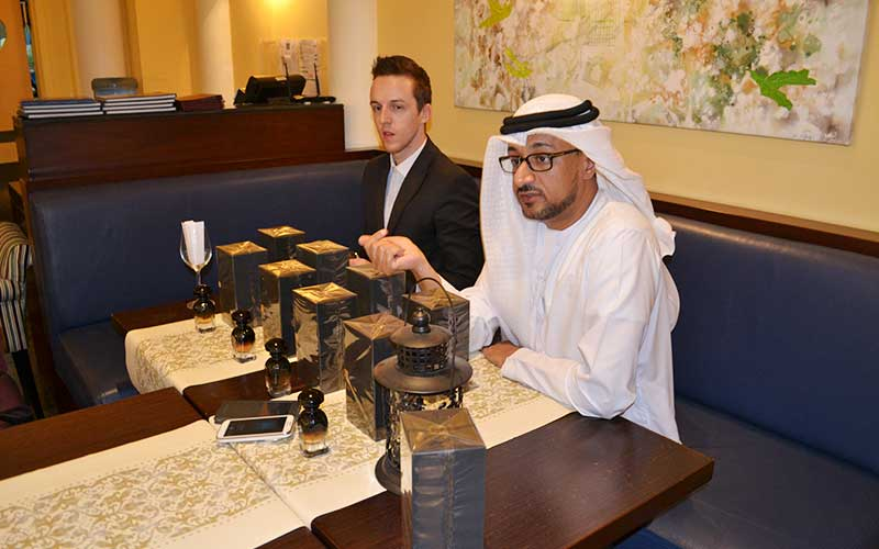 Blue Salon Launches AJ Arabia Perfumes