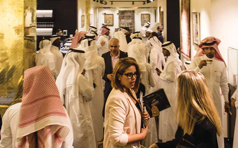 Al Bahie Art Auction Opening