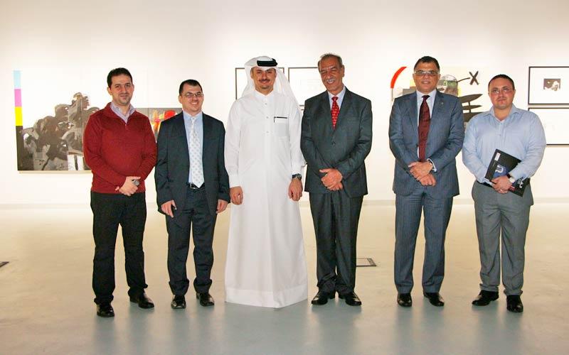 Bissan Gallery Sponsors Katara Exhibition
