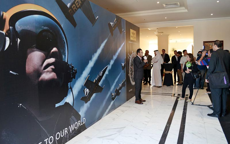 Blue Salon opens cutting edge Breitling service centre in Doha