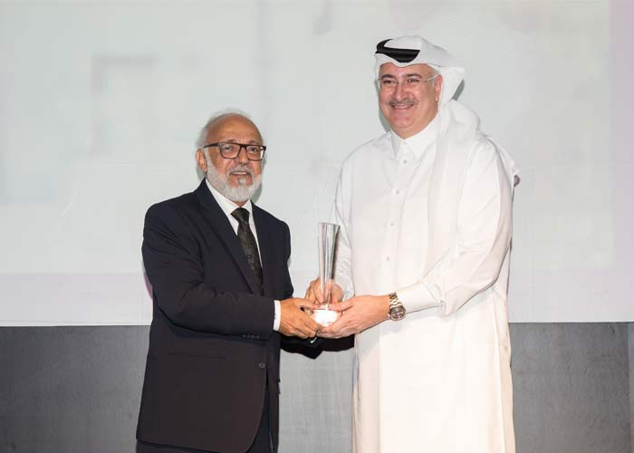"Ashraf Abu Issa receives ""Businessman of the year"" Award"
