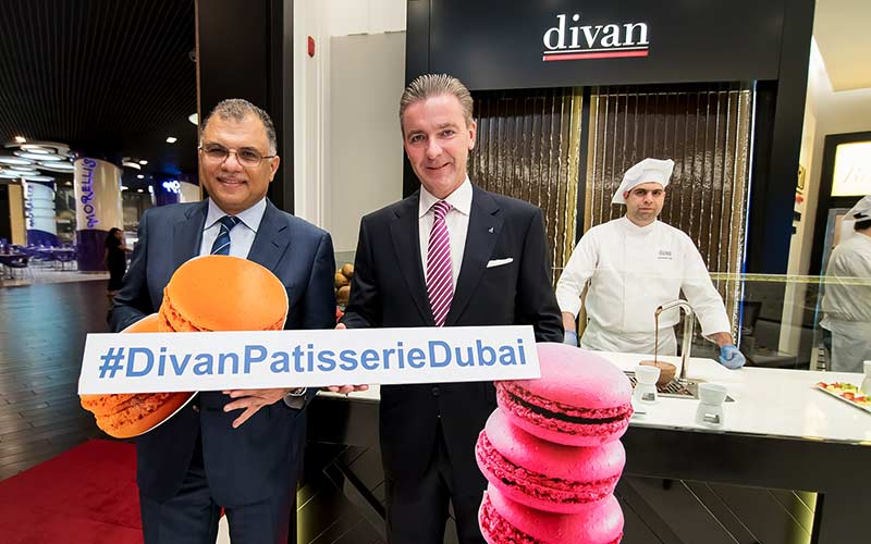 Opening of Divan Pattiserie