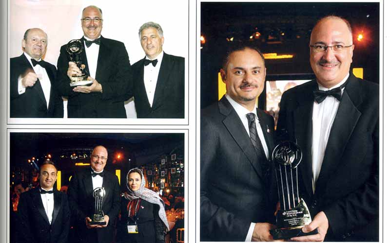 "Ashraf Abu Issa wins Ernst & Young's ""Entrepreneur of the Year"" Award"