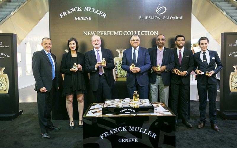 Frank Muller introduces first line of Perfumes at Blue Salon