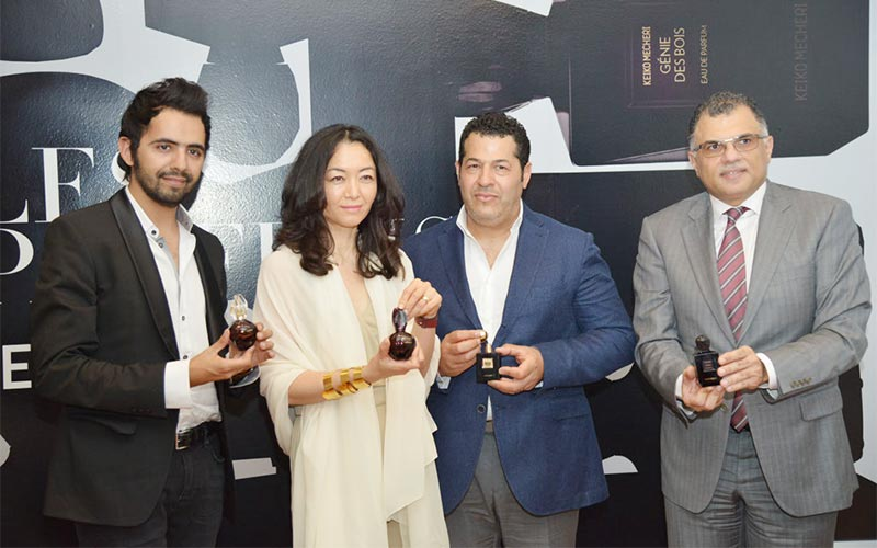 Launch of Les Parfums Keiko Mecheri at Blue Salon