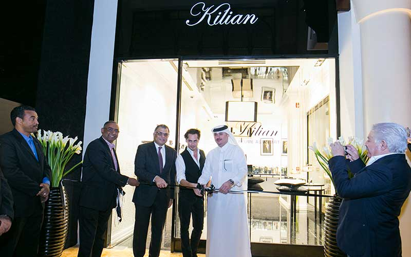 Kilian Grand Opening at The Pearl
