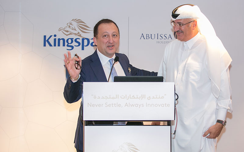 Abu Issa Holding  & KingSpan conduct seminar on Isolated Panels