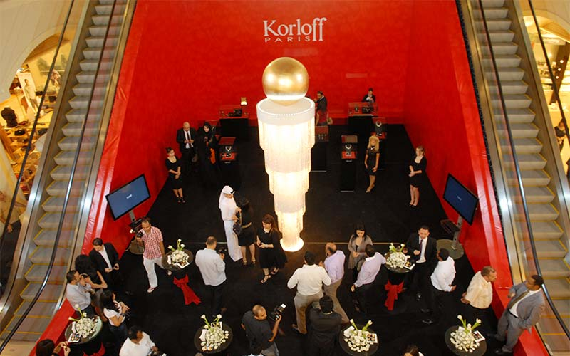 Korloff Launch