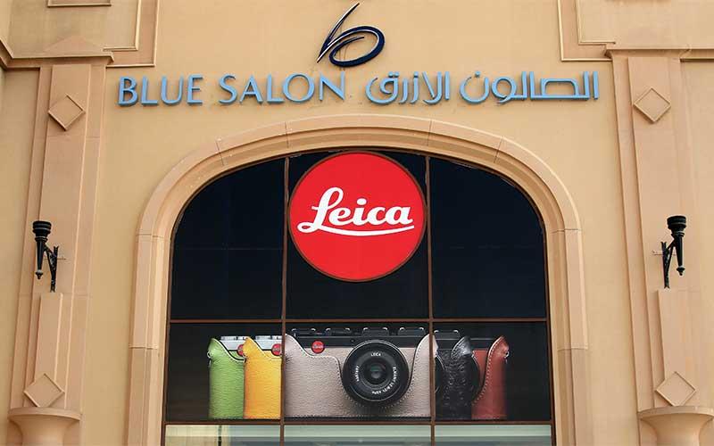 Top Camera Brand Leica comes to Blue Salon