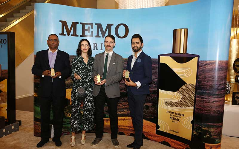 Launch of  Irish Leather and Italian Leather by MEMO Paris