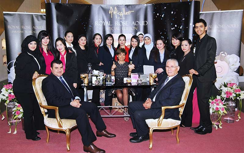 Micaleff Royal Rose Aoud Launch