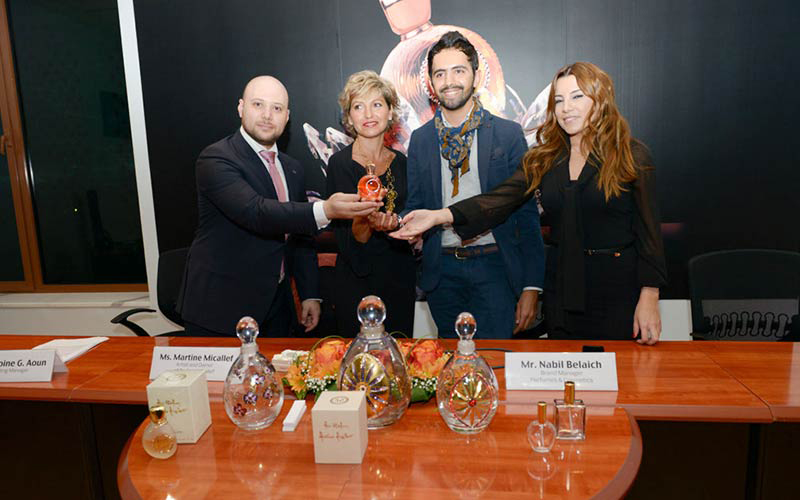 "Blue Salon Launches the New ""MON PARFUM CRISTAL"" Perfume By Martine Micallef"