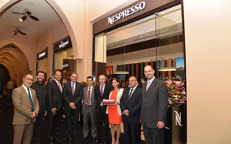 Nespresso Boutique Opening