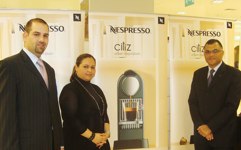 Nespresso Launch