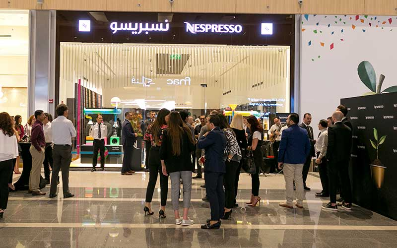 Nespresso Store Opens in Doha Festival City Mall