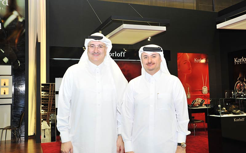 Blue Salon shines at Doha Jewellery and Watches Exhibition