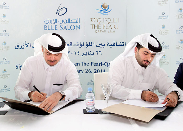 The Pearl-Qatar, Blue Salon Ink Agreement to Open Retail Outlets of leading Global Brands at The Island