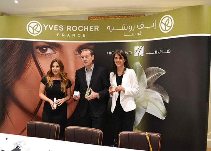 Yves Rocher Launch at Highland, The Mall